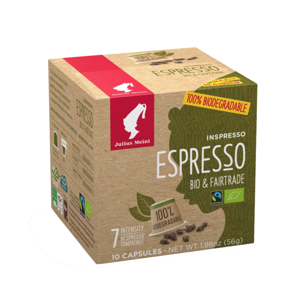 bio fairtrade espresso brighty and fruity