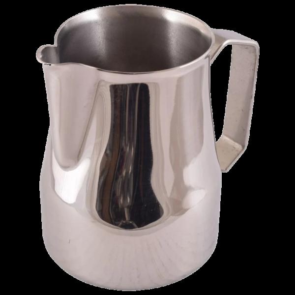 latte art milk frothing jug